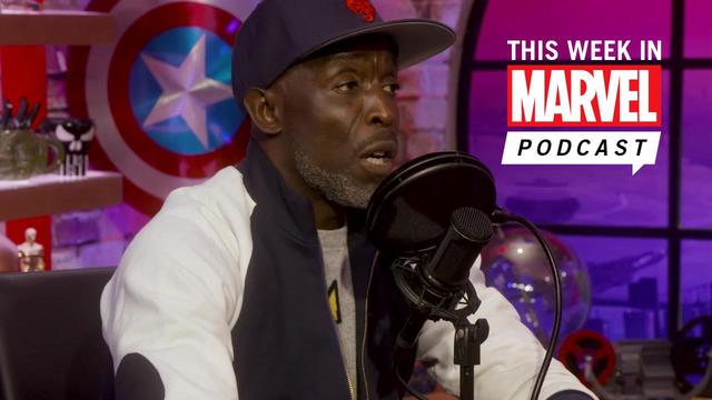 Actor Micheal K. Williams stops by | This Week in Marvel podcast