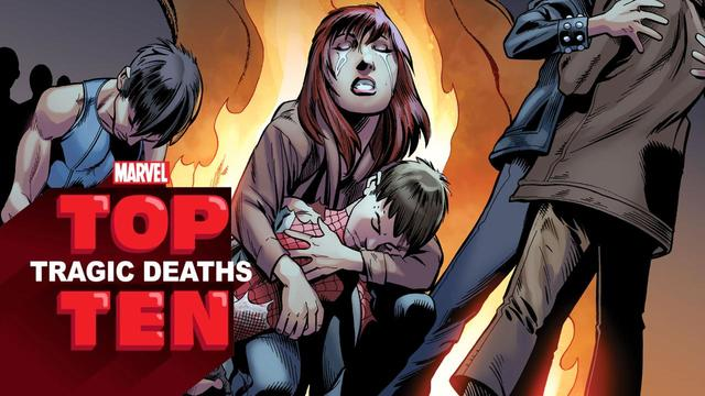 Top 10 Tragic Deaths | Marvel Top 10