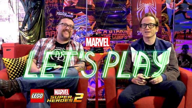 Chris Gethard & Ryan Play LEGO Marvel Super Heroes 2 -- Marvel Let's Play
