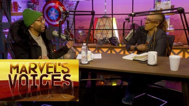 Jeremie Harris Endorses the Legion Dance Party Break | Marvel's Voices podcast