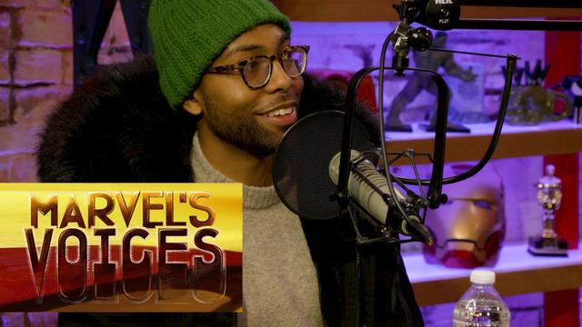 How Jeremie Harris Discovered Acting | Marvel's Voices podcast