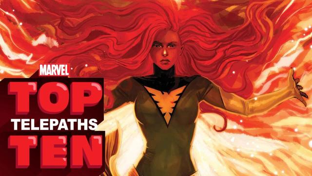 Top 10 Telepaths | Marvel Top 10