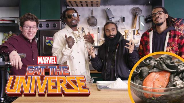 Eat the Universe: Episode 2 - Venom Black Noodles (ft. Flatbush Zombies)