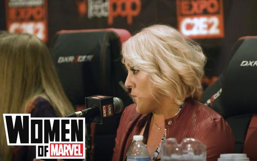 Rachelle Rosenberg and the Women of Marvel Podcast at C2E2 2018