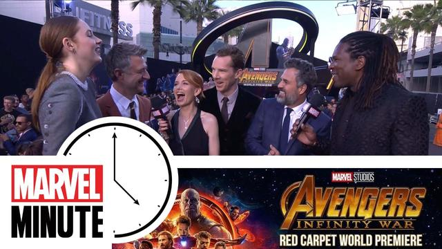 The Return of Marvel Minute -- Marvel Studios' Avengers: Infinity War Red Carpet World Premiere