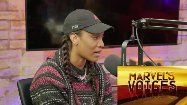 How A'ja Wilson Leads Her Team | Marvel's Voices podcast