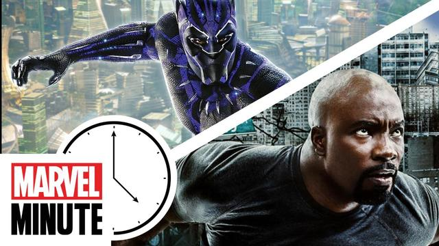 Black Panther, Luke Cage and More! | Marvel Minute