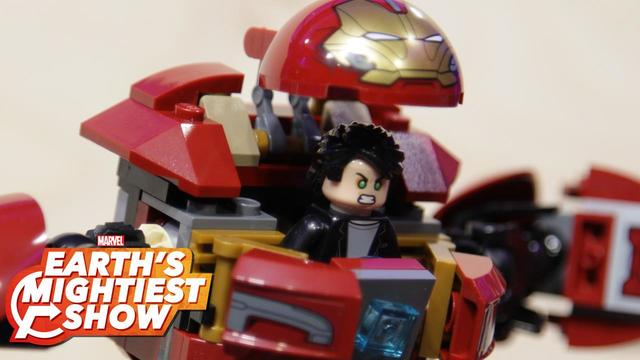 BONUS: LEGO Marvel Super Heroes: Avengers Hulkbuster Smash-up | Earth's Mightiest Show
