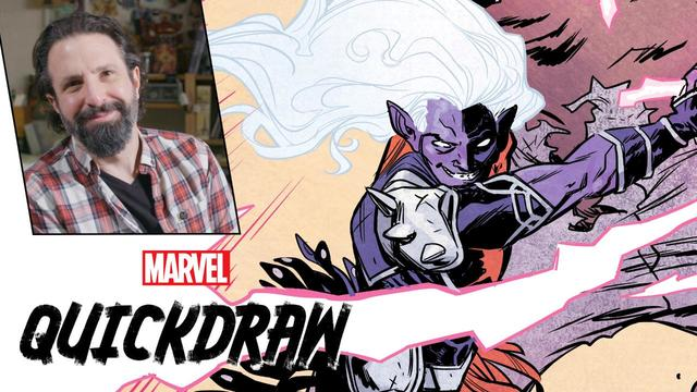 Ramón Pérez Draws Malekith | Marvel Quickdraw