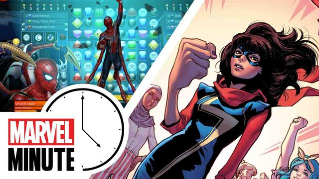 Kamala Khan! Eat the Universe! Marvel Games and more! | Marvel Minute