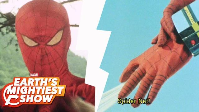 BONUS: 1970s Japanese Spider-Man: Gadgets | Earth's Mightiest Show