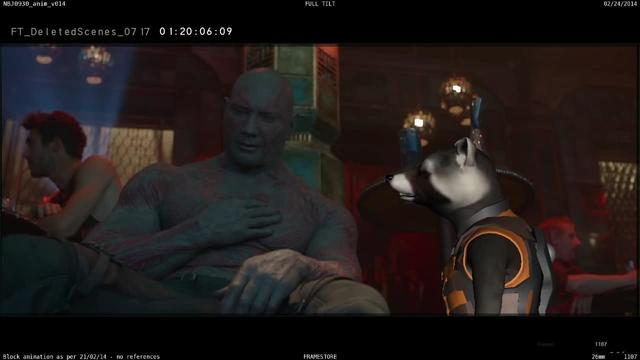 Marvel Studios' Guardians of the Galaxy | Drunk Drax Deleted Scene