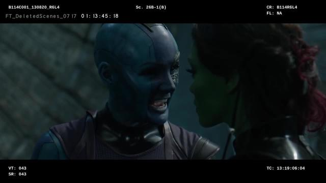 Marvel Studios' Guardians of the Galaxy | Sisterly Love Deleted Scene