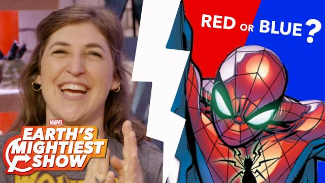 Spider-Man: Red or Blue Controversy and more | Earth's Mightiest Show