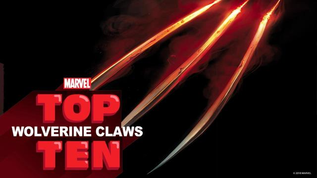 Top 10 Wolverine Claws | Marvel Top 10