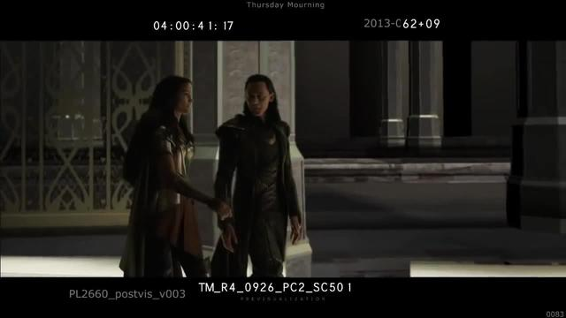 Marvel Studios' Thor: The Dark World | Deleted Scene 1 (Loki as Captain America)