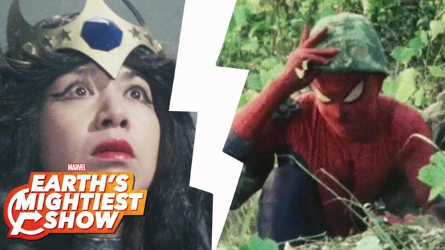 BONUS: 1970s Japanese Spider-Man: Entrances | Earth's Mightiest Show
