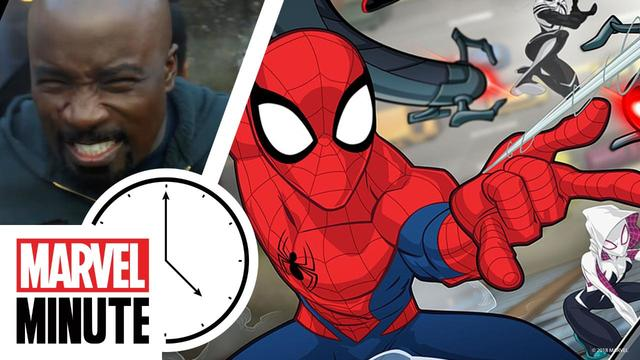Marvel's Luke Cage! Marvel's Cloak and Dagger! Marvel's Spider-Man! | Marvel Minute