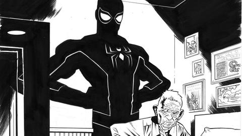 Image for Old Timers: A Spider-Man/Deadpool Sketchbook