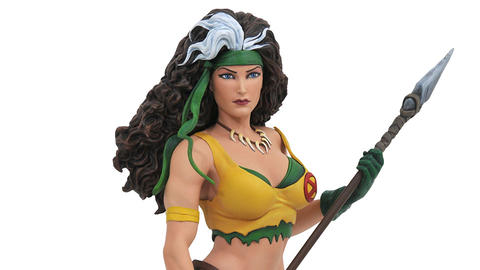 Image for First Look: Diamond Select Toys' Marvel Gallery Savage Land Rogue PVC Diorama