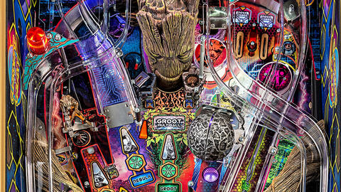 Image for Stern Pinball Announces Guardians of the Galaxy Machines