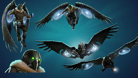 Image for Piecing Together Marvel Puzzle Quest: Vulture