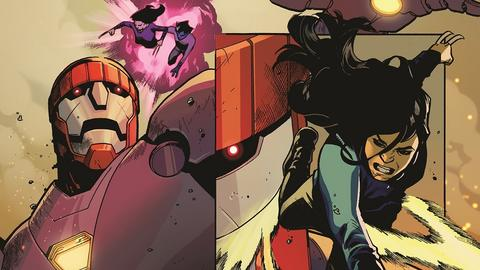 Image for Uncover Mahmud Asrar's Artistic Process for X-Men: Red