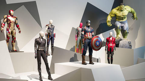 Image for 'Marvel: Creating the Cinematic Universe' at QAGOMA in Australia