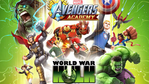 Image for Battle an Army of Hulks in 'Marvel Avengers Academy'