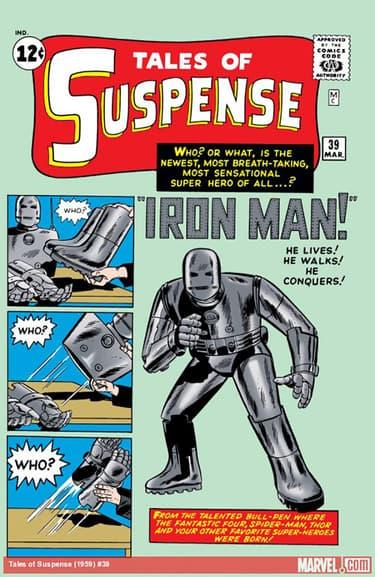 TALES OF SUSPENSE#39