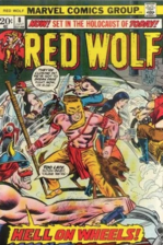 RED WOLF (1973) #8