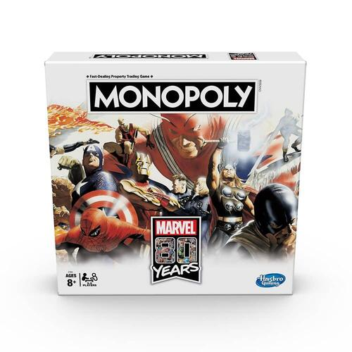 Marvel: 80 Years Monopoly Game by Hasbro