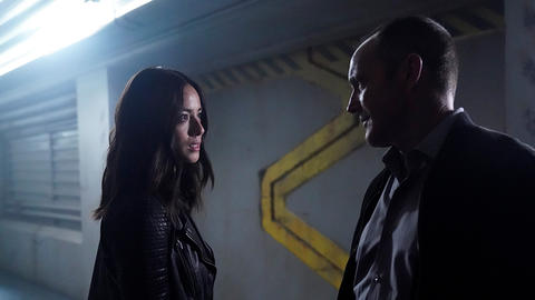 Image for Clark Gregg and Chloe Bennet Return to This Week in Marvel's Agents of S.H.I.E.L.D.
