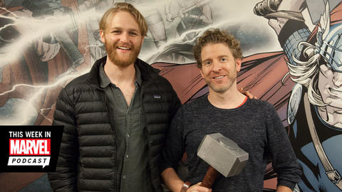 Image for Wyatt Russell and Jeff Grace Join The Marvel Podcast