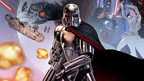 Image for Kelly Thompson and Marco Checchetto Return Captain Phasma to Duty