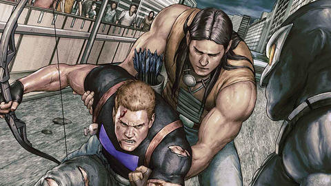 Image for Occupy Avengers: Nighthawk Falls