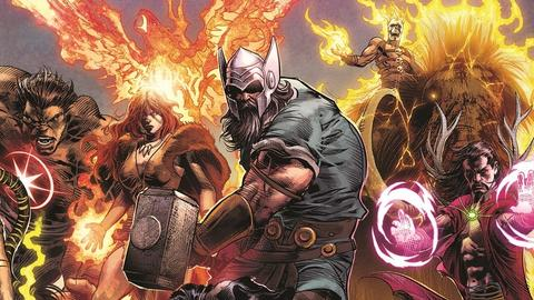 Image for Marvel Legacy: It All Starts Here