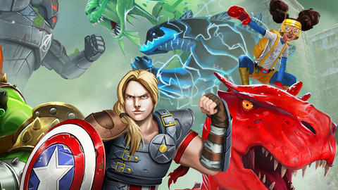 Image for Monsters Unleashed Upon 'Marvel Avengers Academy'