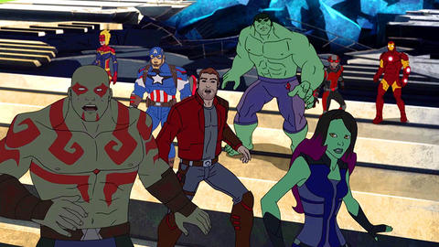 Image for The Guardians and the Avengers Team Up For An Epic One-Hour 'Marvel's Guardian of the Galaxy' Season Two Premiere