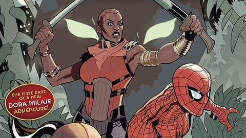 Amazing Spider-Man: Wakanda Forever cover
