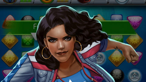 Image for Piecing Together Marvel Puzzle Quest: America