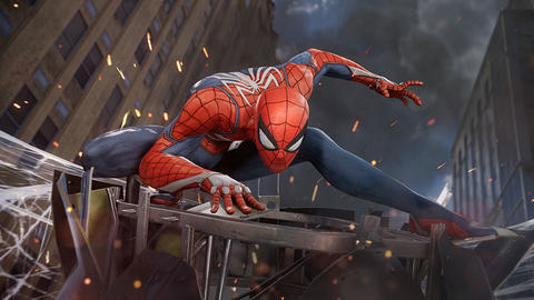 Image for 'Marvel's Spider-Man' Swings into E3 2017