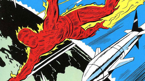 Image for Kirby 100: The Human Torch Flies Solo