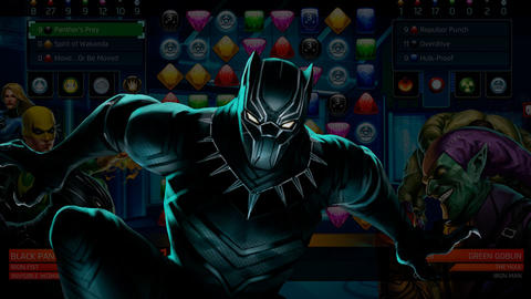 Image for Piecing Together Marvel Puzzle Quest: Black Panther