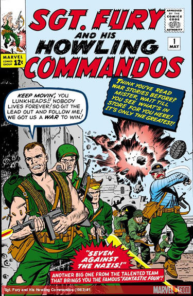 SGT. FURY AND HIS HOWLING COMMANDOS #1