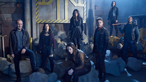 Image for New Cast Photos from 'Marvel's Agents of S.H.I.E.L.D.' Highlight the Team's Space Adventure