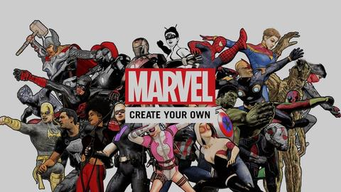Image for Marvel: Create Your Own