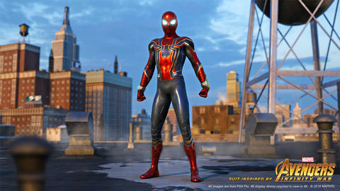 Image for This Week in Marvel Games: Iron Spider, Thanos, The Black Order, and More