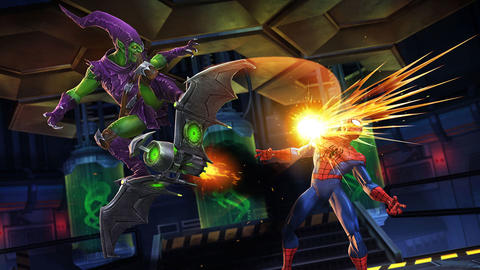 Image for Entering Marvel Contest of Champions: Green Goblin
