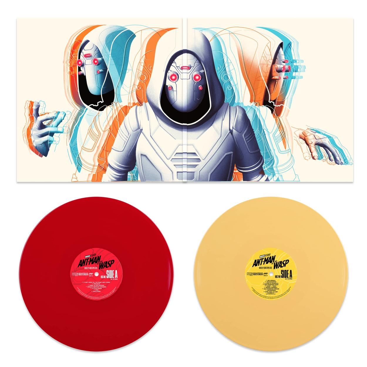 Ant-Man and the Wasp gatefold with discs